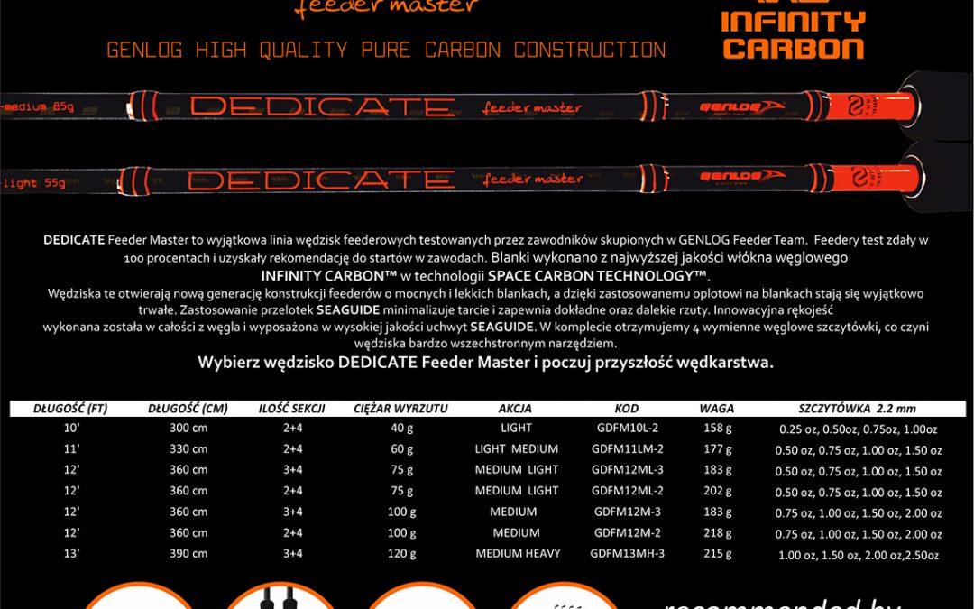 Skrócona specyfikacja DEDICATE Feeder Master